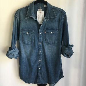 Levi Western Shirt jacket; NWT